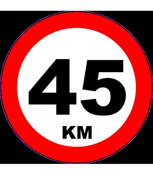 45km 2 - Pictogrammen