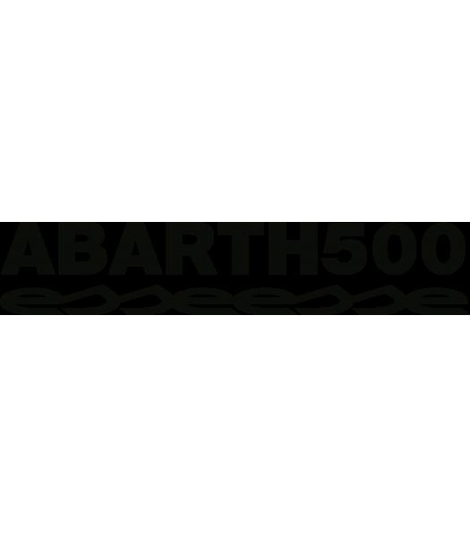 Abarth 500 Esseesse - Logo's