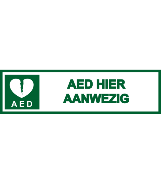 AED4 - Pictogrammen