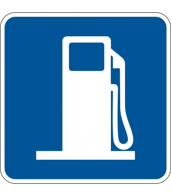 Benzinepomp - Pictogrammen