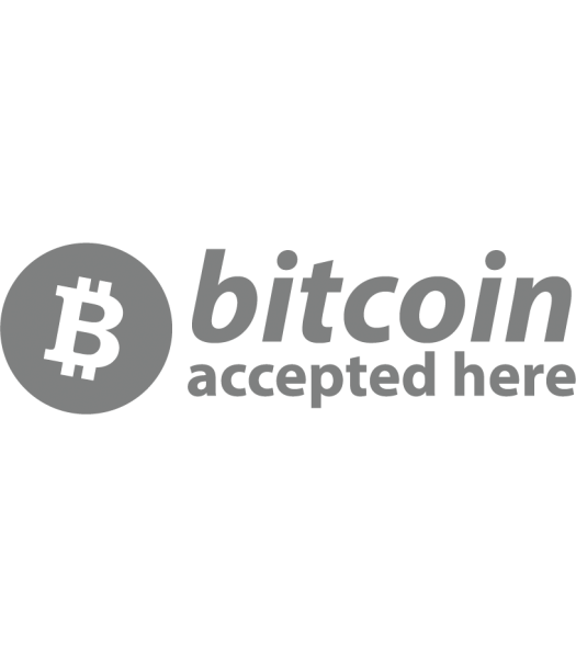 Bitcoin accepted - Logo's