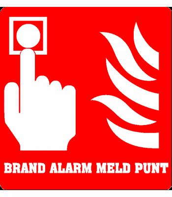 Brand alarm