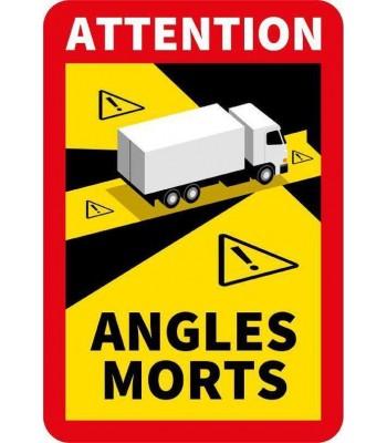 Dode hoek sticker Frankrijk / Angles Morts