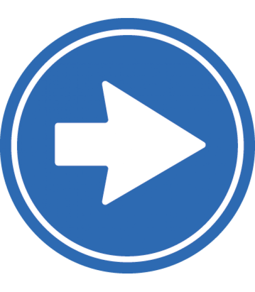 Eenrichtingsweg(volgen) - Pictogrammen