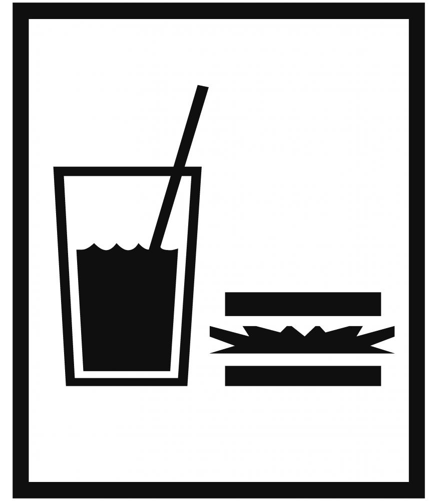 Eten En Drinken Sticker Kopen Sign Amp Styling Oss