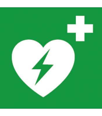 Evacuatie defibrilator - Pictogrammen