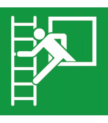 Evacuatie noodladder - Pictogrammen