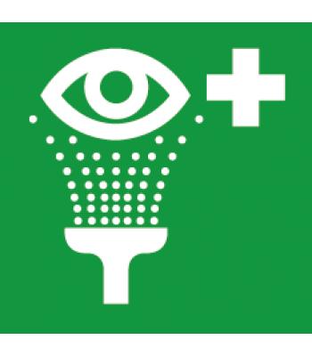 Evacuatie oogdouche - Pictogrammen