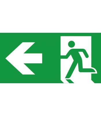 Evacuatie Pijl Links