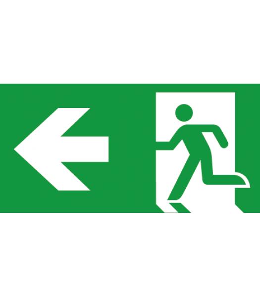 Evacuatie Pijl Links - Pictogrammen