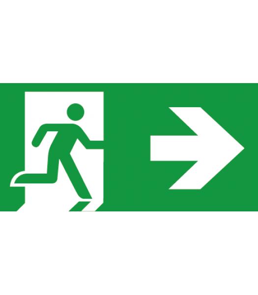 Evacuatie Pijl Rechts - Pictogrammen