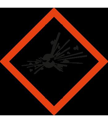 Explosiegevaar - Pictogrammen