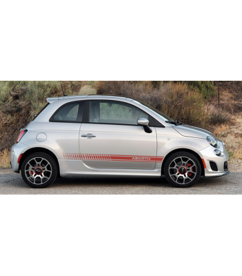 Fiat 500 Abarth set