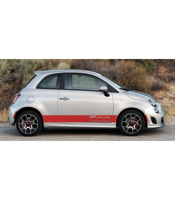 Fiat 500 striping set