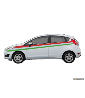 Ford Fiesta Italia striping set