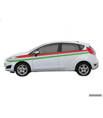 Ford Fiesta Italia striping set