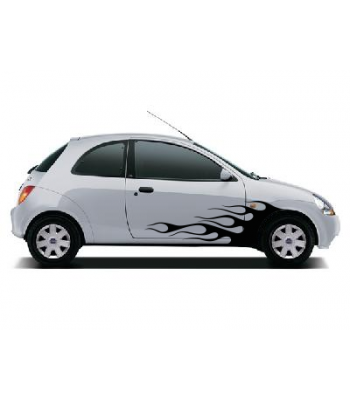 Ford Ka vlammenset