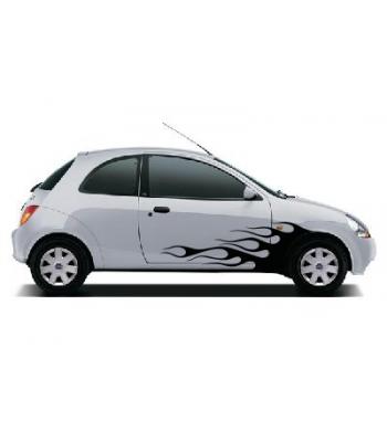Ford Ka vlammenset