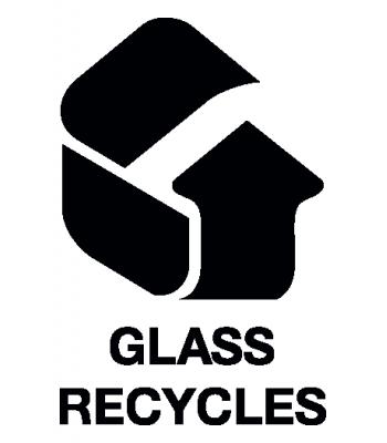 Glas recyclen