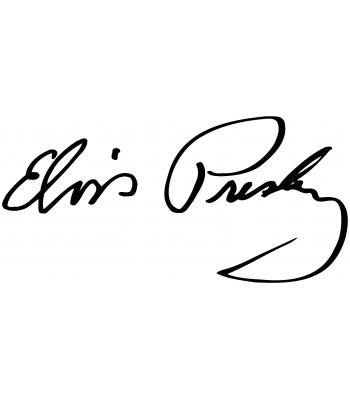 Handtekening Elvis Presley