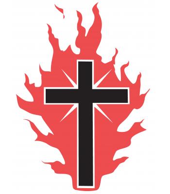 Kruis met vuur
