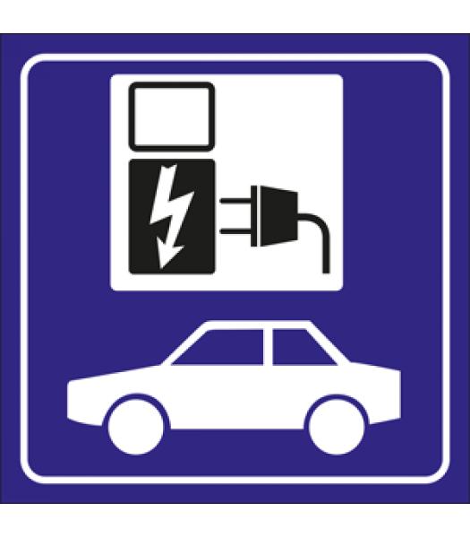 Laadpunt elektrische wagen - Pictogrammen