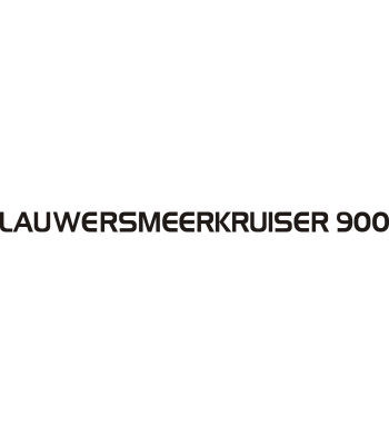 Lauwersmeerkruiser 900