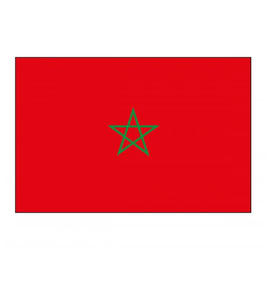 Marokkaanse vlag - Vlaggen & Werelddelen