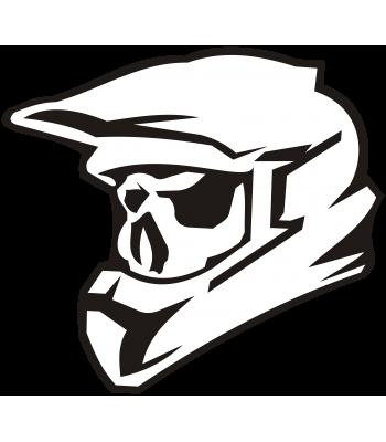 Motorcross Skull