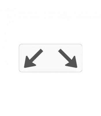 Onderbord Pijl Links/Rechts