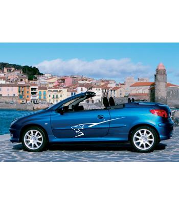 Peugeot leeuw set