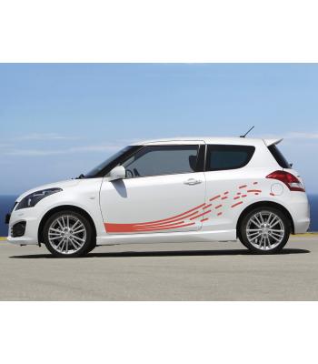Suzuki Swift striping set
