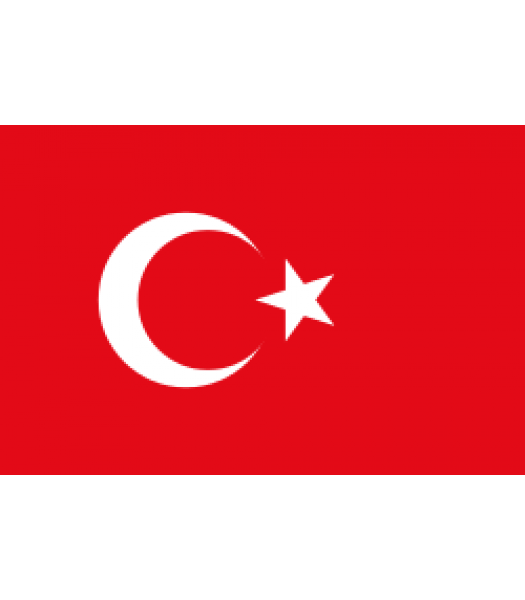 Turkse vlag - Vlaggen & Werelddelen