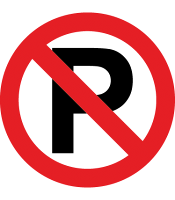 Verboden te parkeren - Pictogrammen