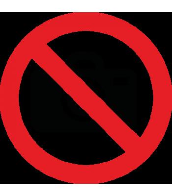 Verboden voor camera's - Pictogrammen