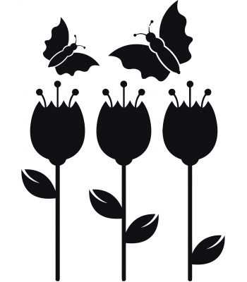 Vlinders en bloemen - Dieren & Natuur