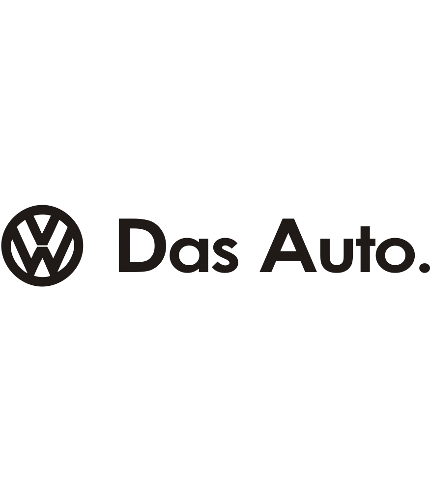 Volkswagen Das Auto sticker kopen | Sign & Styling Oss
