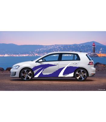 Volkswagen Golf GTI Tribal set