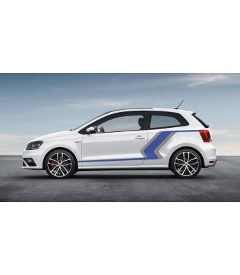 Volkswagen Polo grijs/blauw set