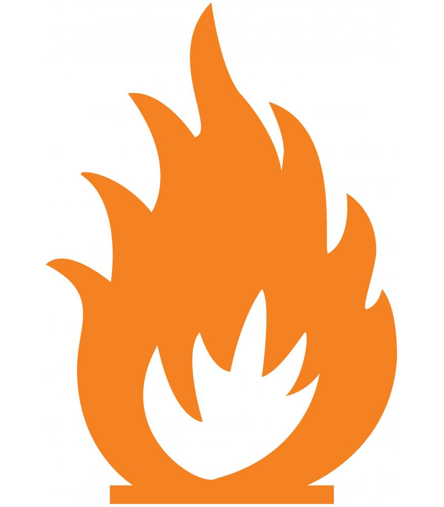 Vuur Sticker Kopen Sign Amp Styling Oss