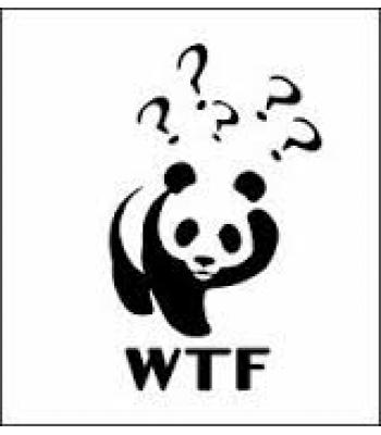 WTF Panda - Funlogo's